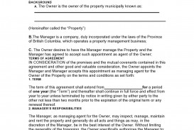 007 Top Property Management Contract Template Uk Sample  Free Agreement Commercial