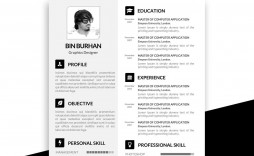 007 Top Psd Resume Template Free Download Photo  Graphic Designer Creative Cv