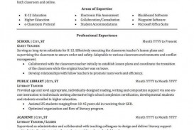 007 Top Resume Example For Teaching Job Concept  Sample Position In College Format