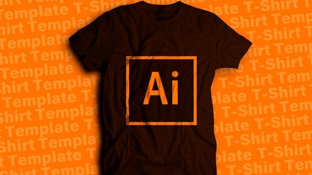 007 Top T Shirt Design Template Ai Highest Clarity  TeeLarge