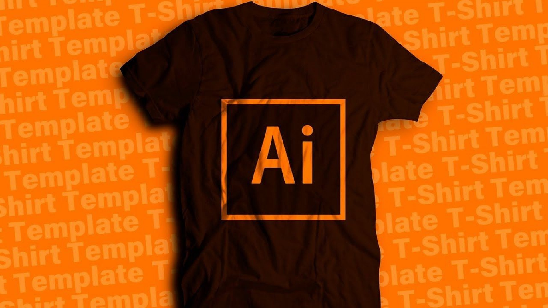 007 Top T Shirt Design Template Ai Highest Clarity  Tee1920
