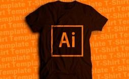 007 Top T Shirt Design Template Ai Highest Clarity  Tee