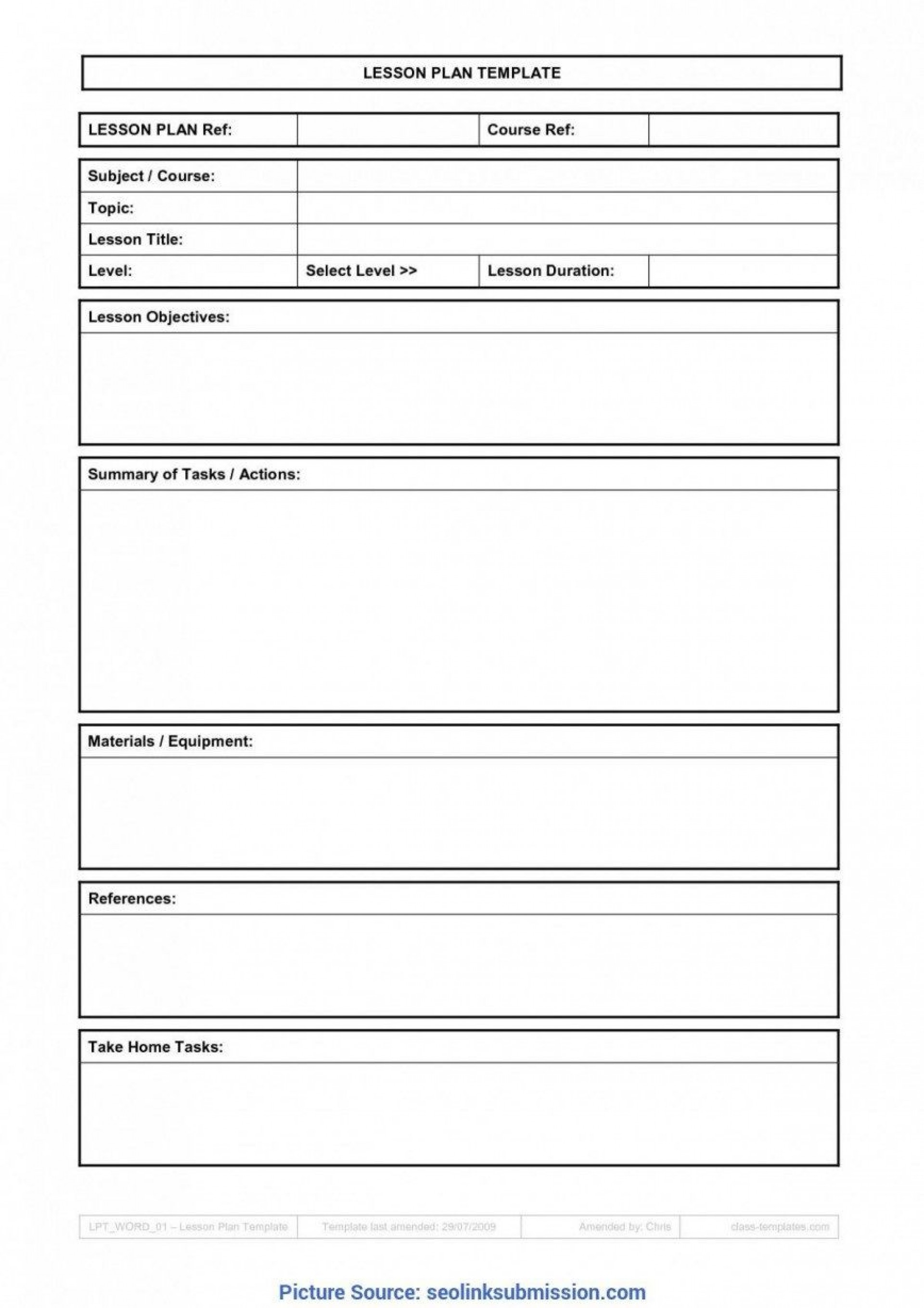 007 Top Weekly Lesson Plan Template Google Doc Sample  Docs 5e Simple1920