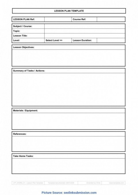 007 Top Weekly Lesson Plan Template Google Doc Sample  Ubd Siop480