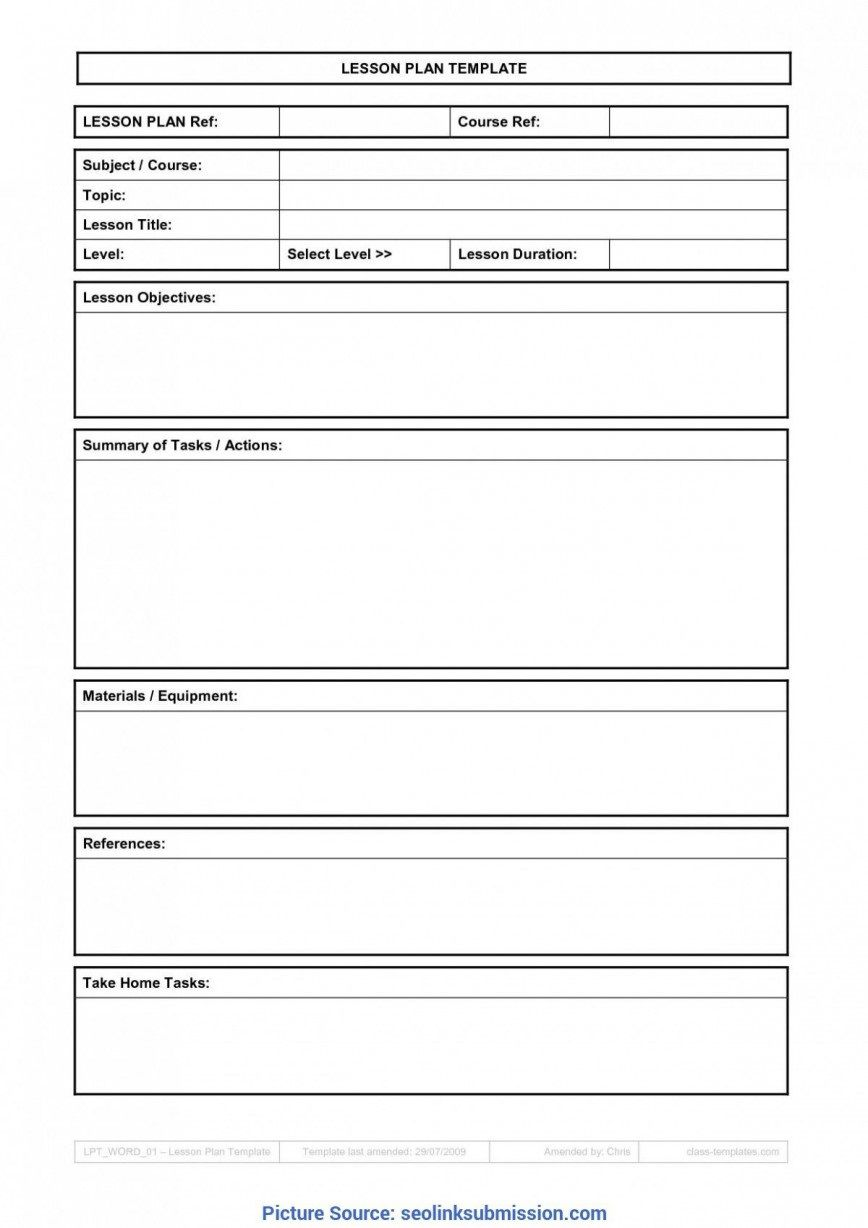 007 Top Weekly Lesson Plan Template Google Doc Sample  Docs 5e SimpleFull