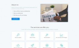 007 Unbelievable Busines Website Html Template Free Download Picture  With Cs Company