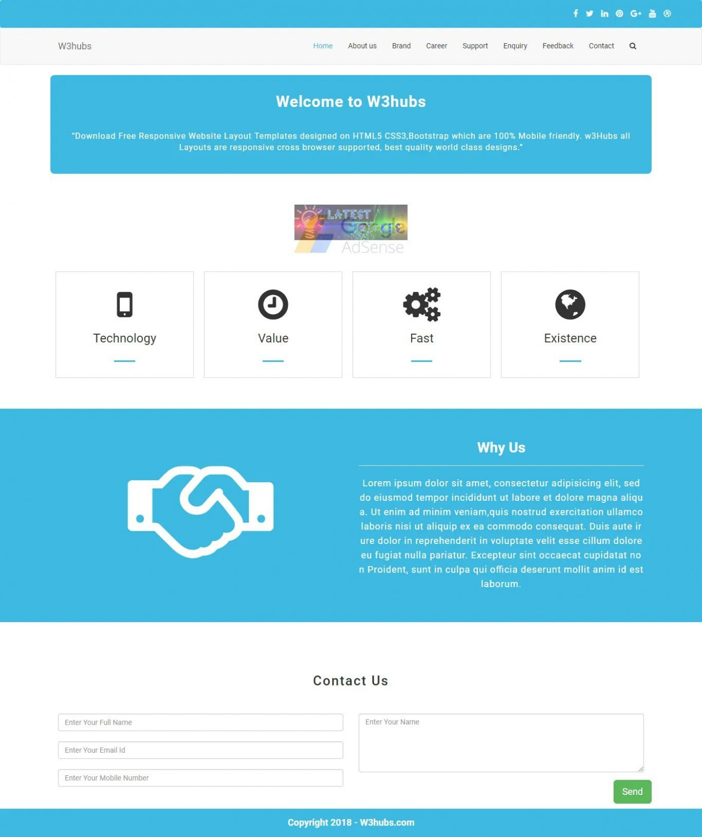 007 Unbelievable Free Php Website Template Photo  Download And Cs Full Theme1400
