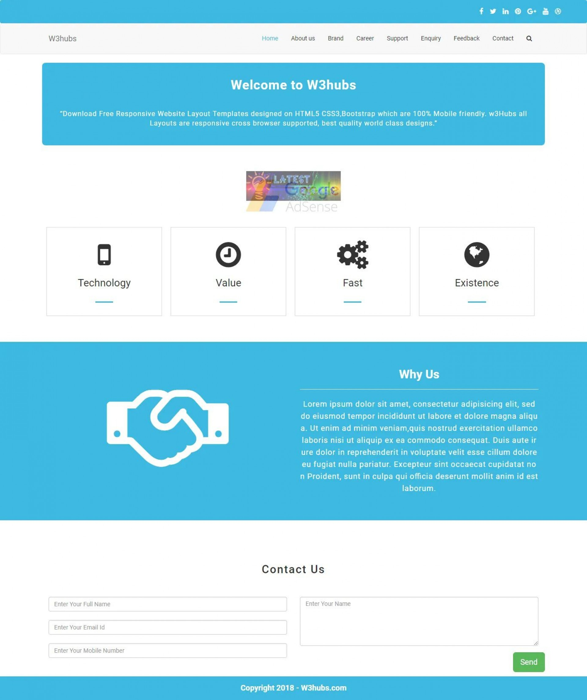 007 Unbelievable Free Php Website Template Photo  Download And Cs Full Theme1920