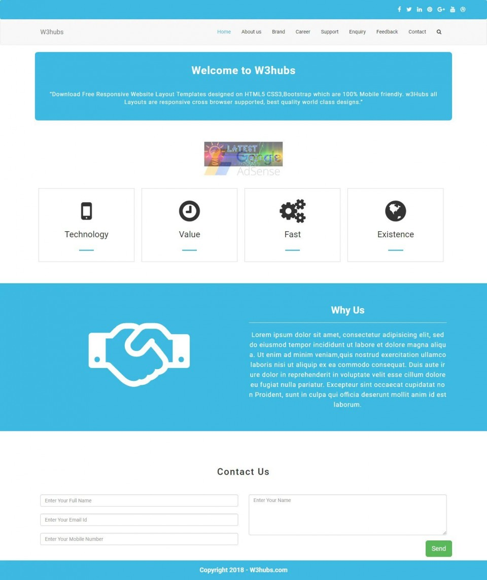007 Unbelievable Free Php Website Template Photo  Download And Cs Full Theme960
