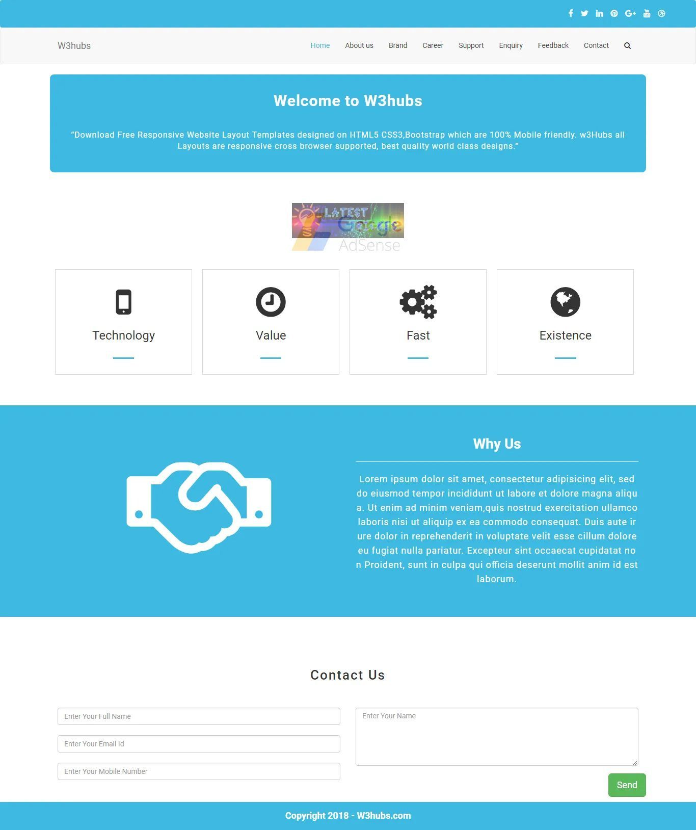 007 Unbelievable Free Php Website Template Photo  Download And Cs Full Theme