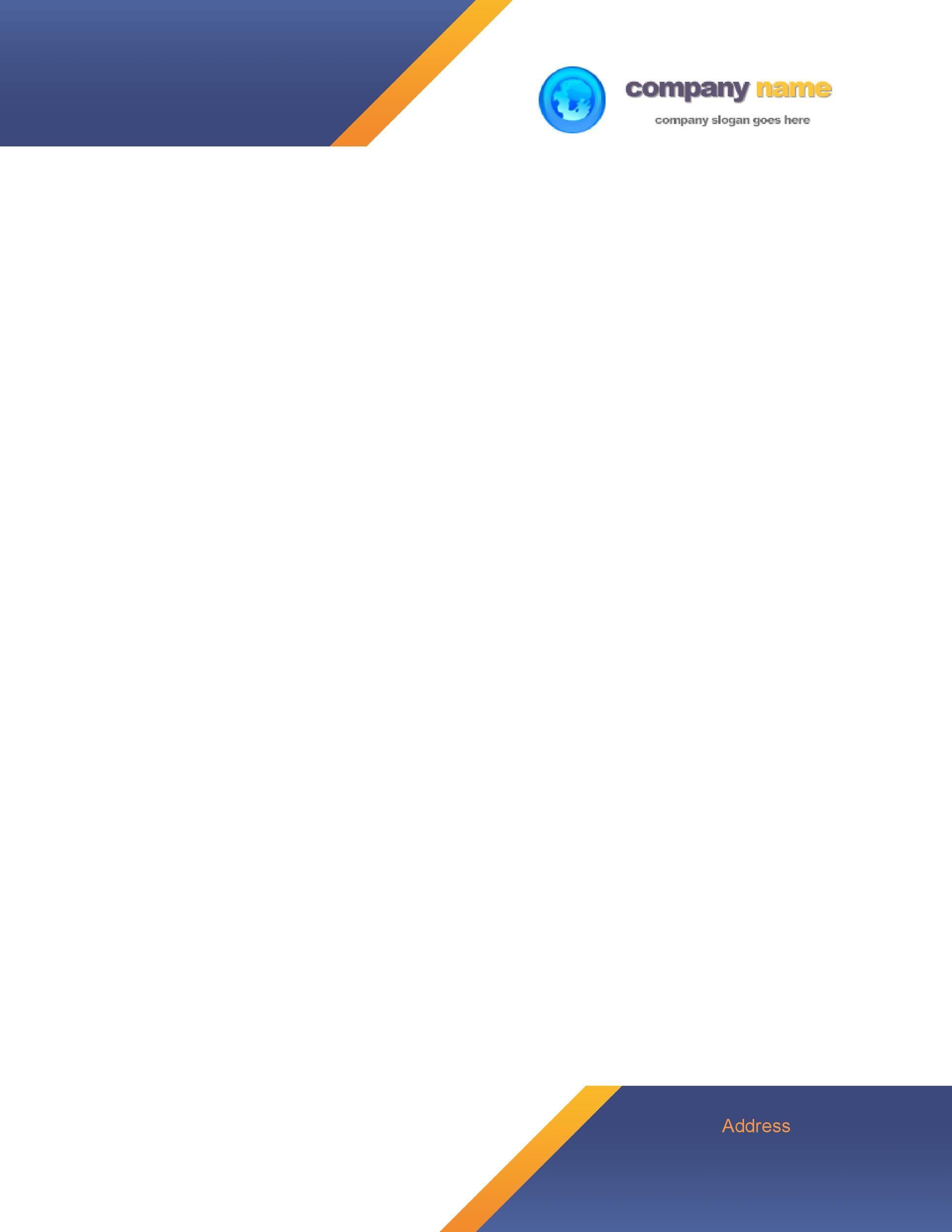 007 Unbelievable Letterhead Format In Word Free Download Pdf High Resolution Full