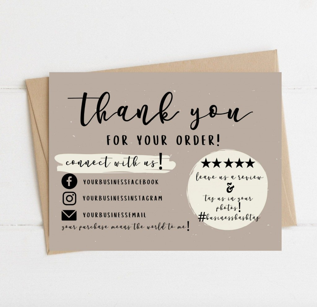 007 Unbelievable Thank You Note Template Pdf High Definition  Card Free Letter Example For StudentLarge