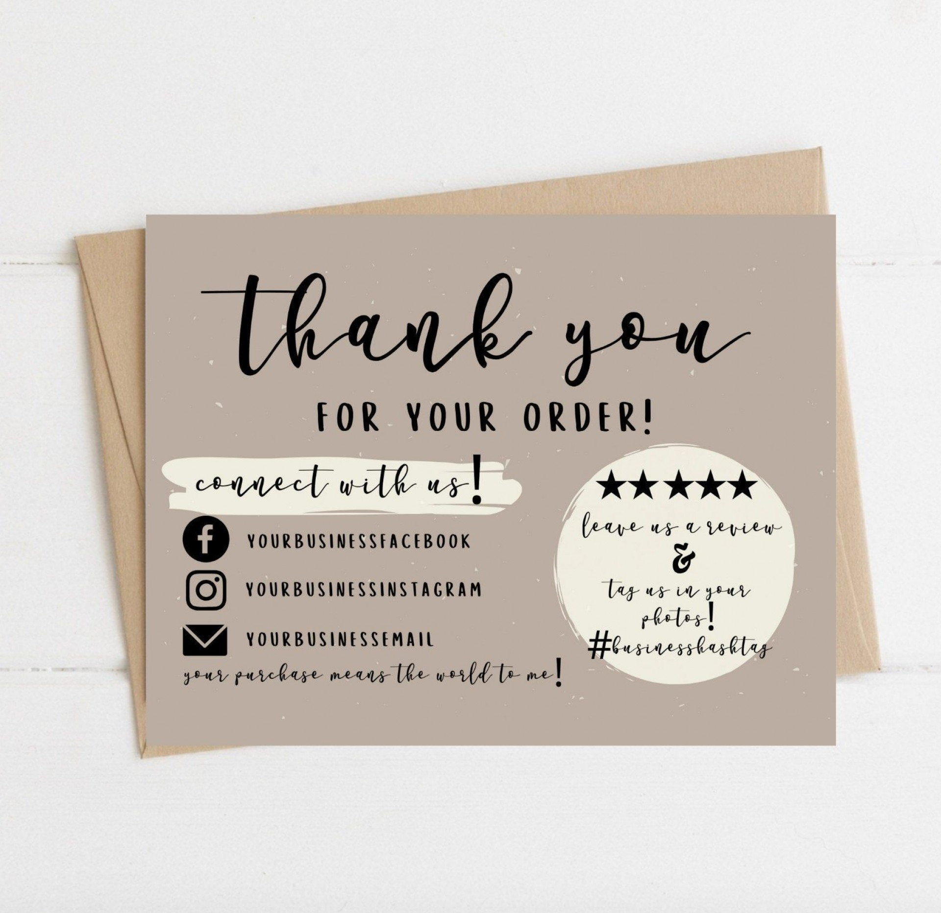 007 Unbelievable Thank You Note Template Pdf High Definition  Card Free Letter Example For Student1920
