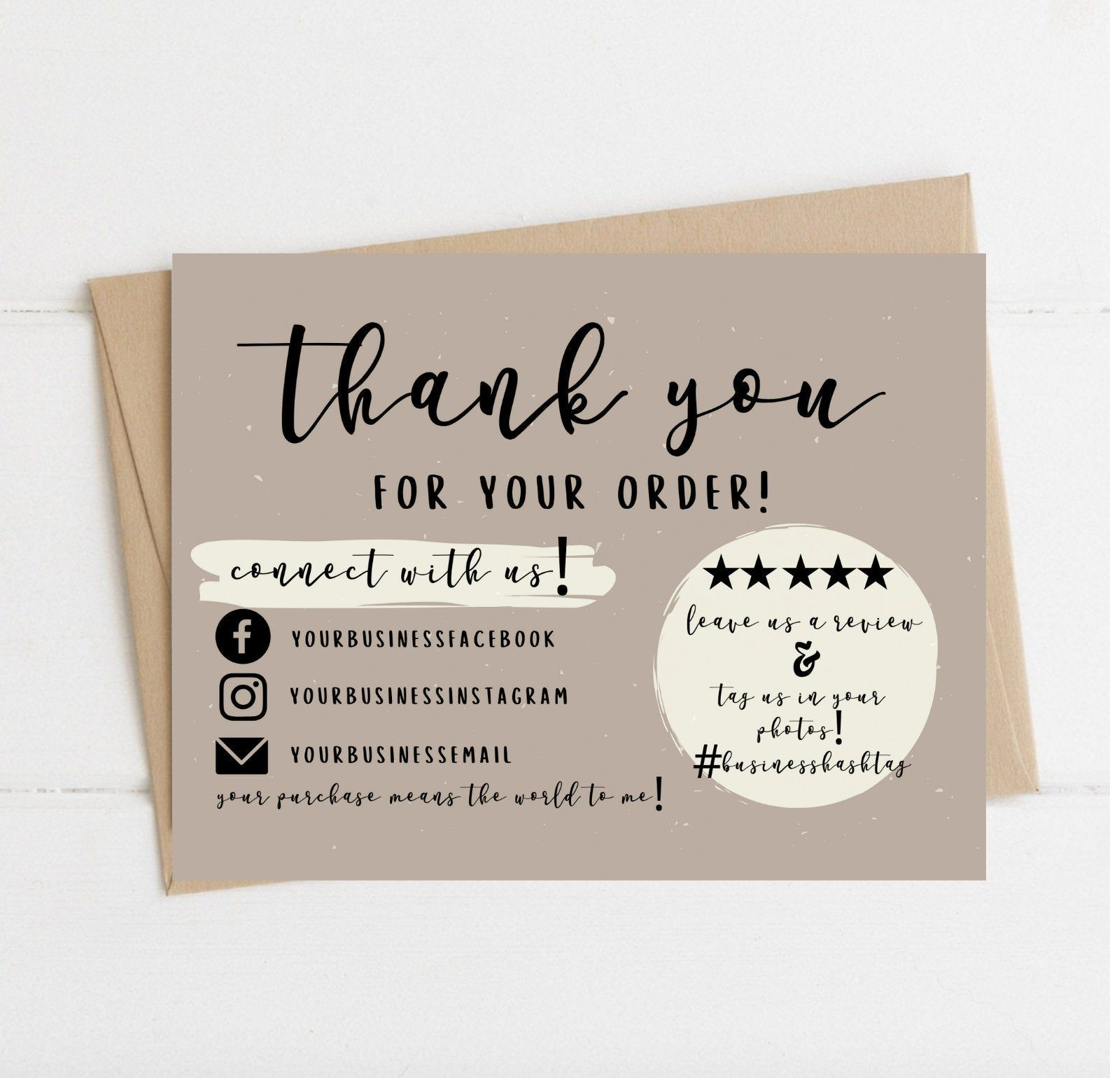 007 Unbelievable Thank You Note Template Pdf High Definition  Card Free Letter Example For StudentFull
