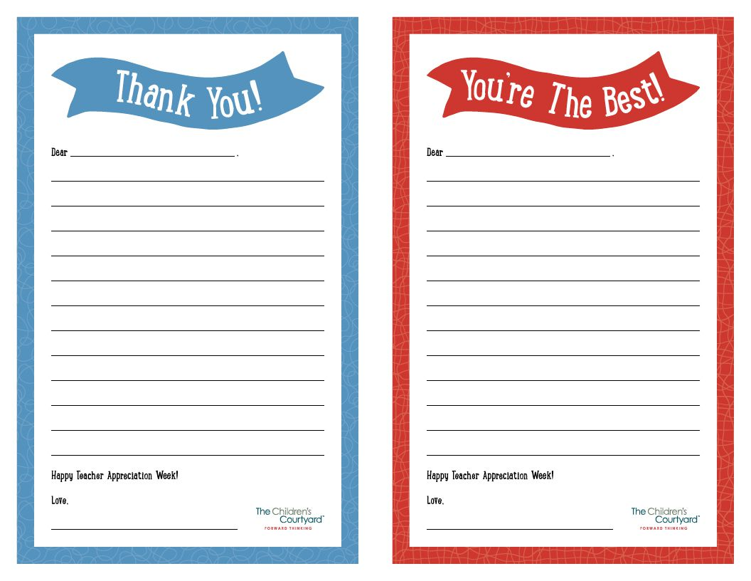007 Unbelievable Thank You Note Template Printable Highest Quality  Letter Baby Card WordFull