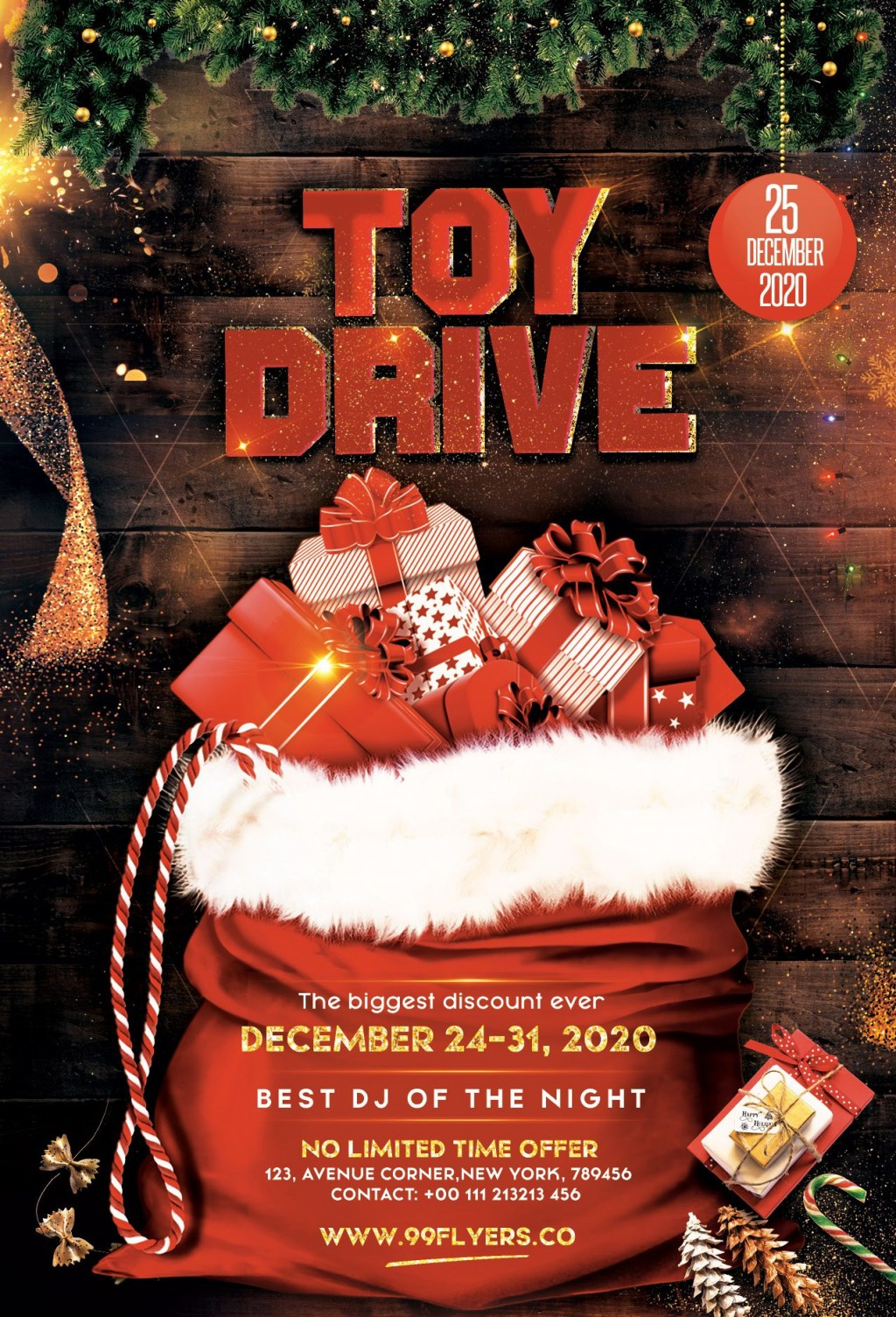 007 Unbelievable Toy Drive Flyer Template Free High Resolution  Download ChristmaLarge