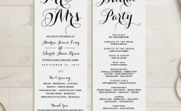 007 Unbelievable Wedding Order Of Service Template Concept  Church Free Microsoft Word Download