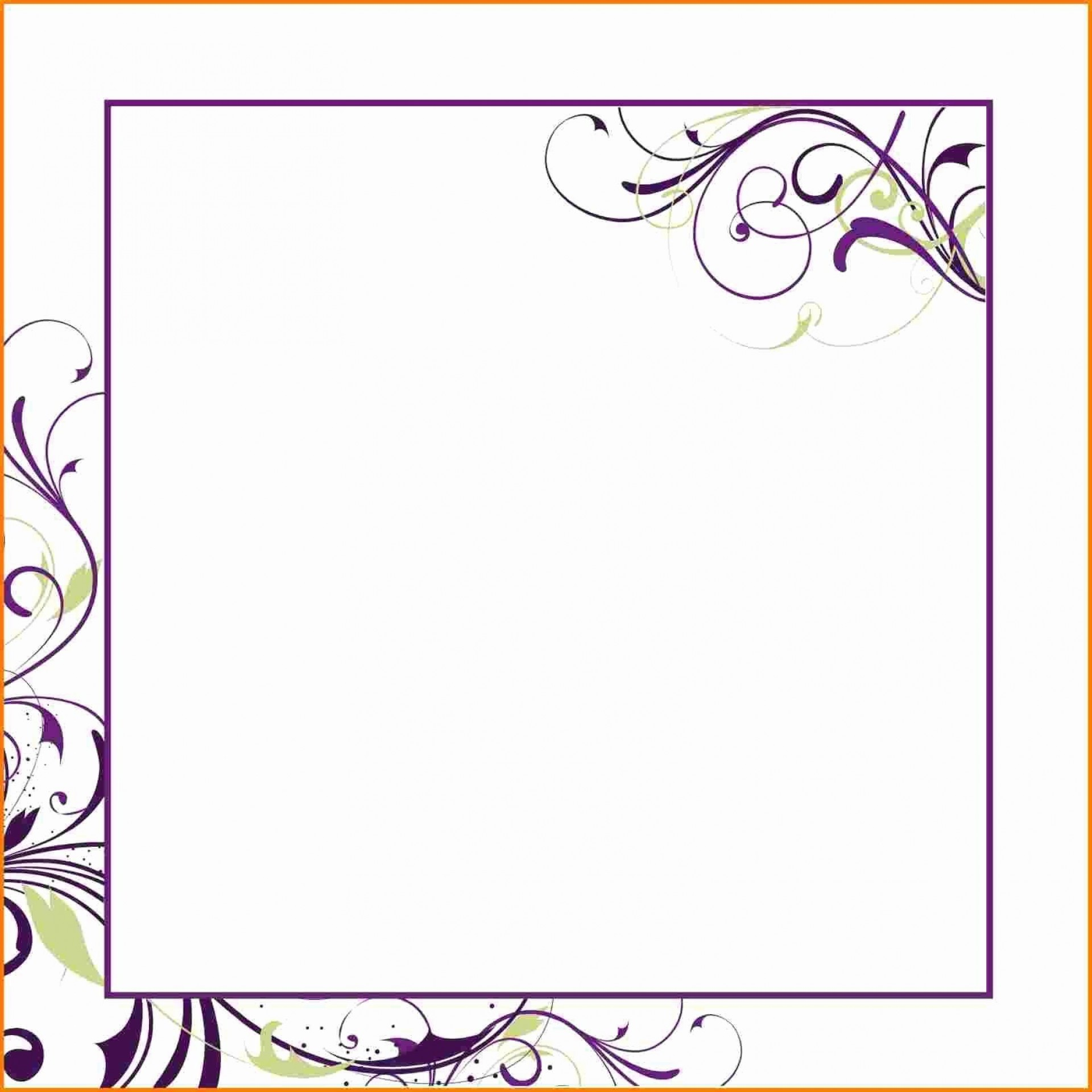 007 Unforgettable Blank Birthday Invitation Template For Microsoft Word Sample 1920