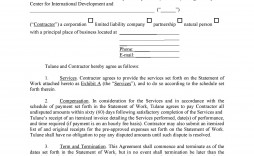 007 Unforgettable Busines Service Contract Template Sample  Small Agreement