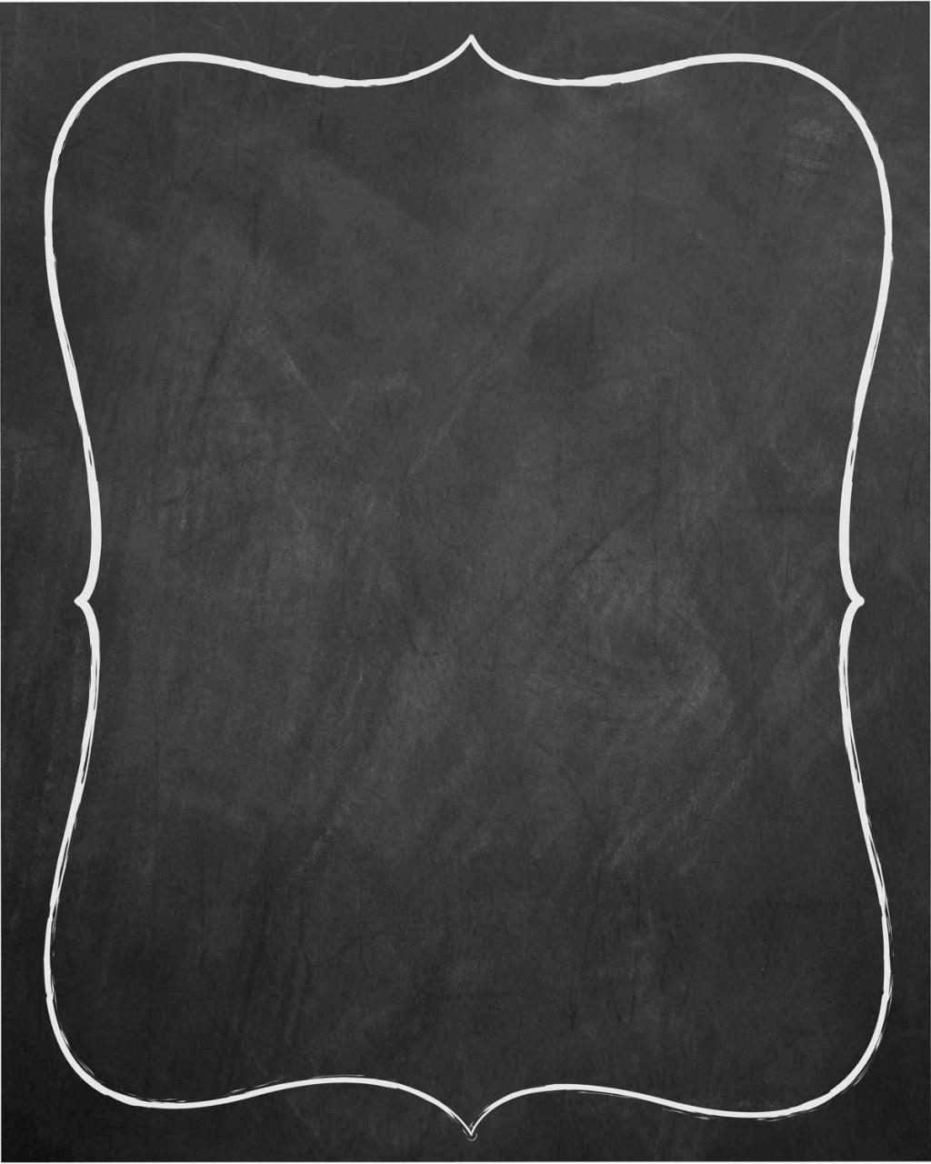 007 Unforgettable Chalkboard Invitation Template Free Idea  Download Wedding EditableLarge