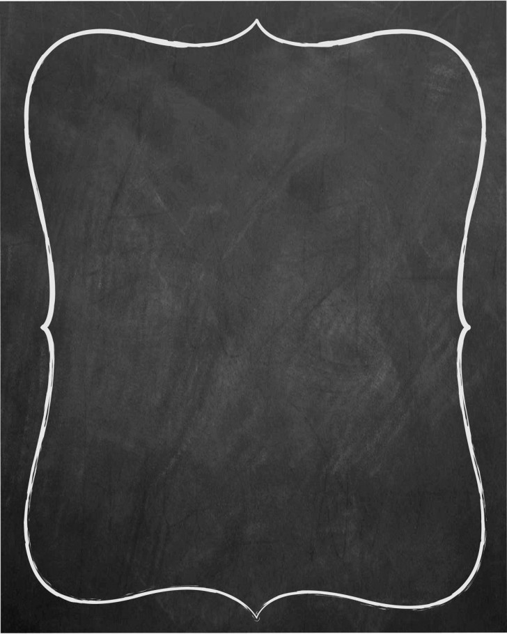 007 Unforgettable Chalkboard Invitation Template Free Idea  Wedding Editable728