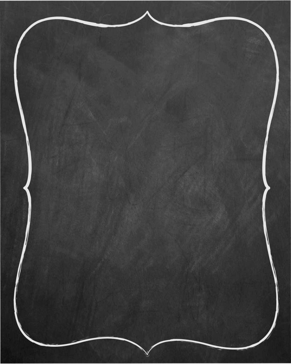 007 Unforgettable Chalkboard Invitation Template Free Idea  Wedding Editable960