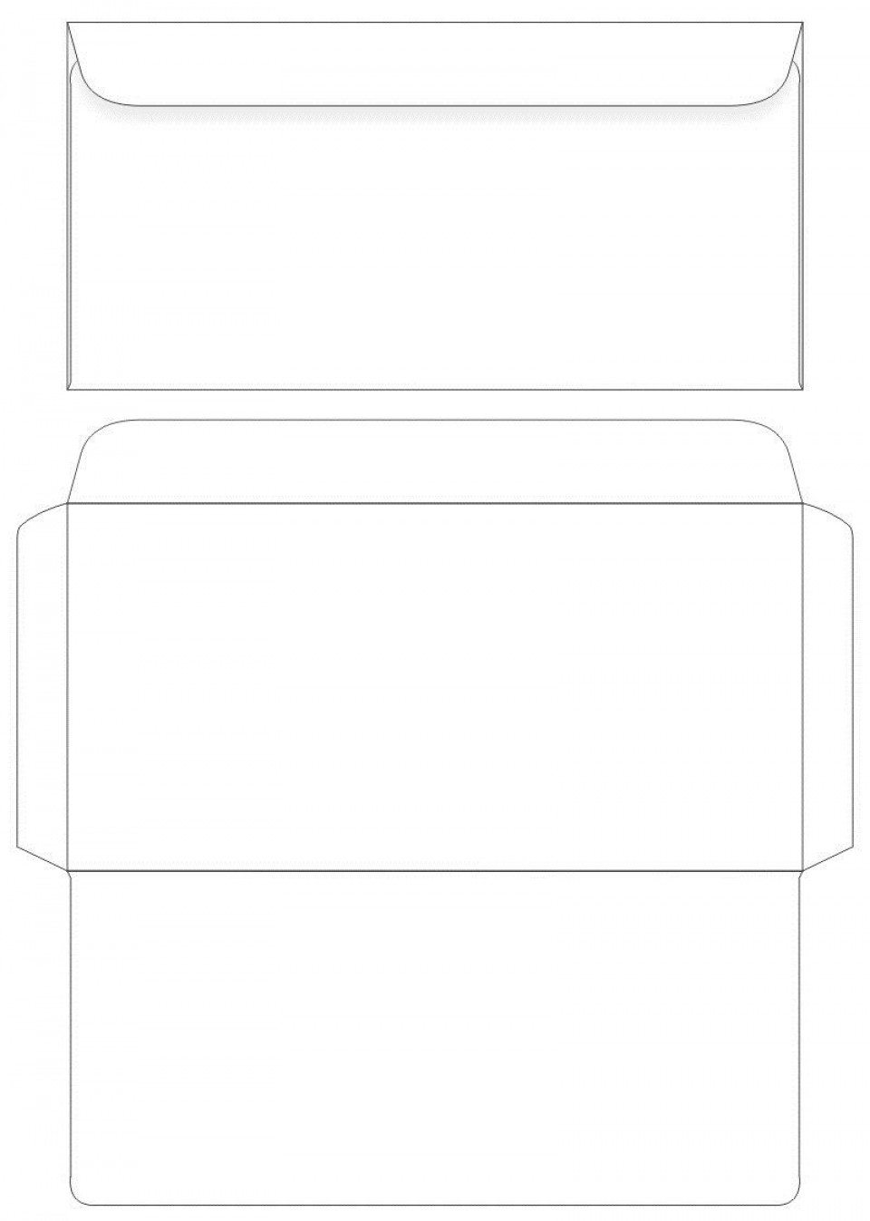 007 Unforgettable Envelope Label Template Free Inspiration  Download960