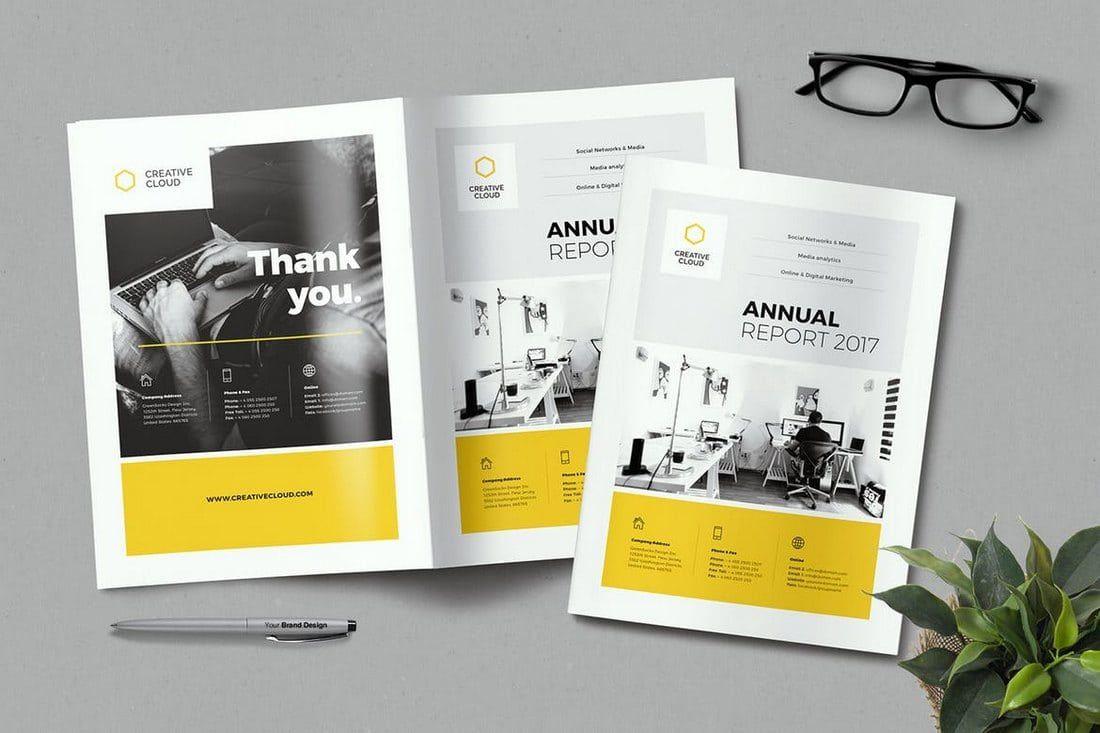 007 Unforgettable Free Annual Report Template Indesign Picture  Adobe Non ProfitFull