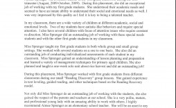 007 Unforgettable Letter Of Recommendation For Student Teacher From Cooperating Template Design