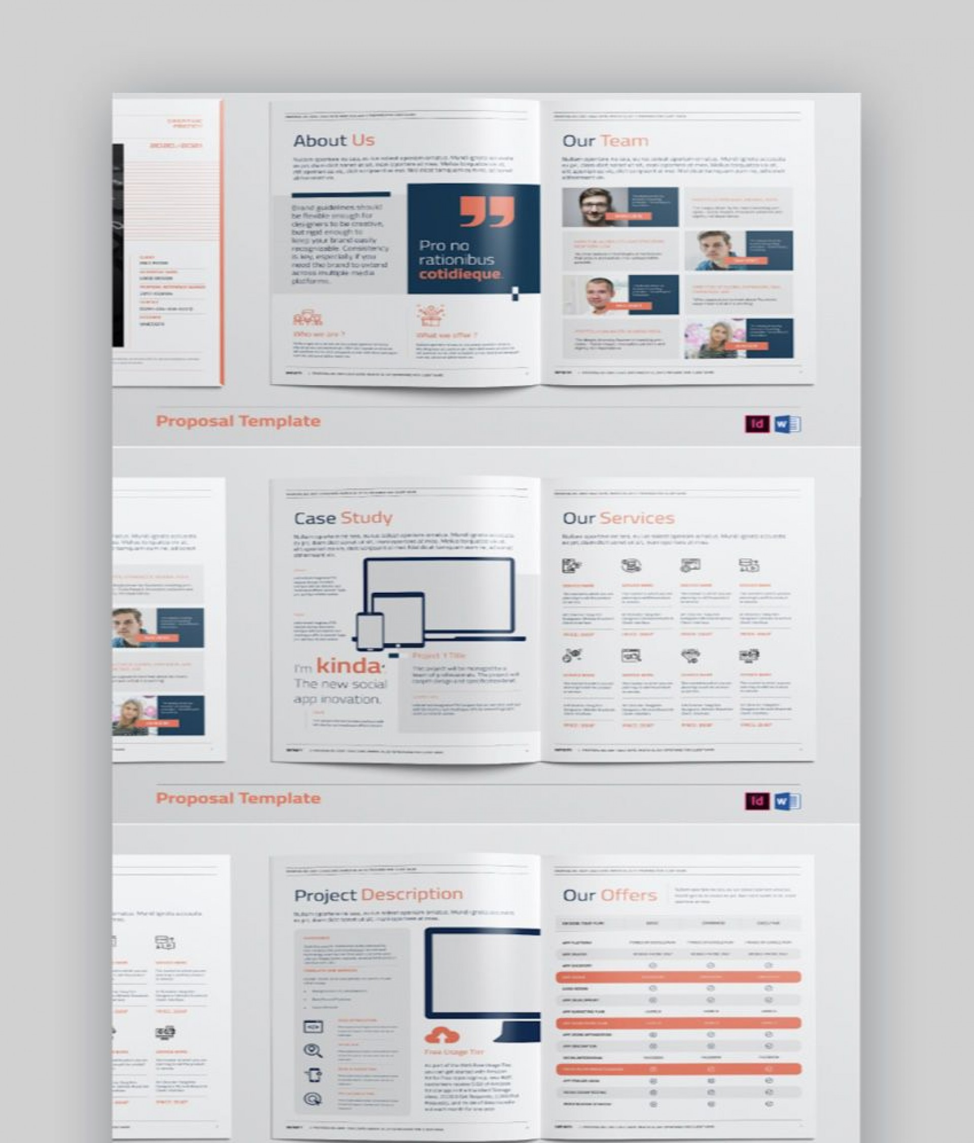 Microsoft Word Proposal Template Download Addictionary