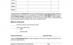 007 Unforgettable Payment Plan Agreement Template Sample  Doc Dental