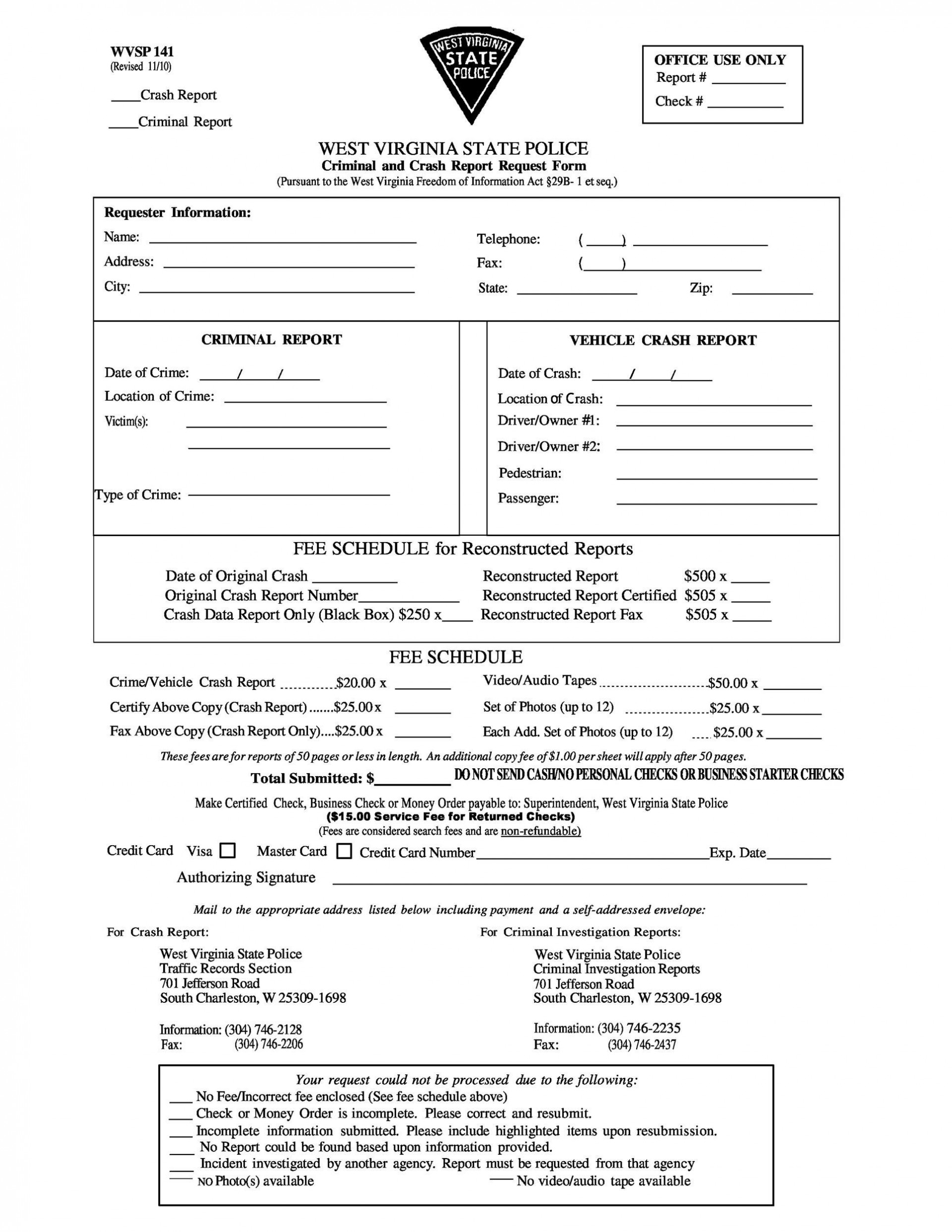 007 Unforgettable Police Report Template Microsoft Word High Definition 1920
