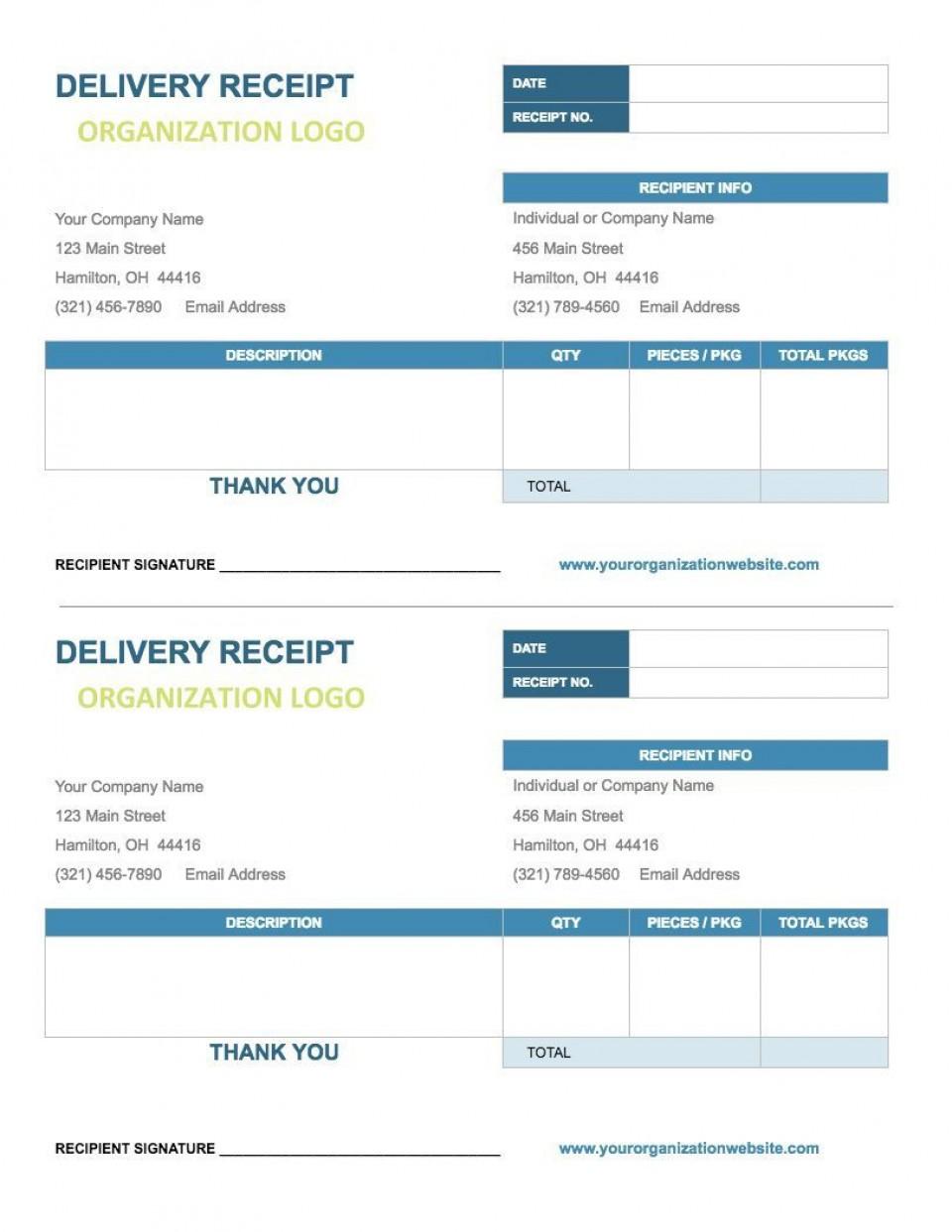 007 Unforgettable Receipt Template Google Doc Highest Quality  Rent Cash Donation960