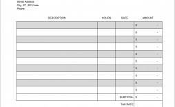 007 Unforgettable Service Invoice Template Free Picture  Auto Download Excel