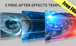 007 Unique Adobe After Effect Free Template Photo  Templates Birthday Download Slideshow