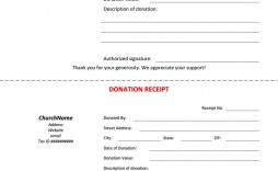 007 Unique Church Tax Donation Receipt Template Highest Clarity