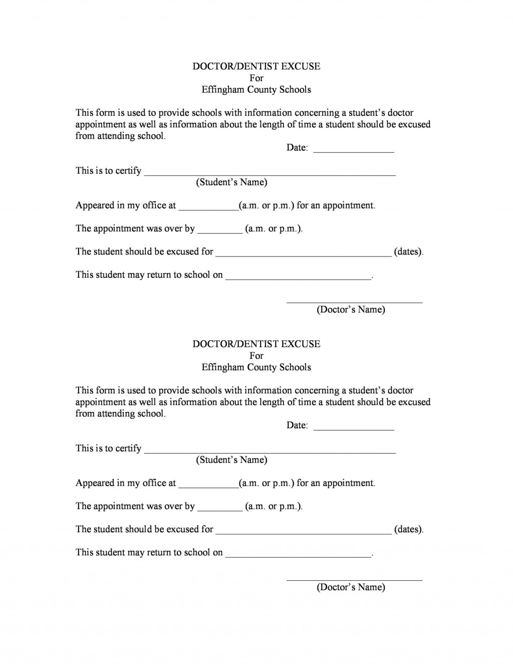 007 Unique Doctor Note Template Free Download Example  FakeLarge