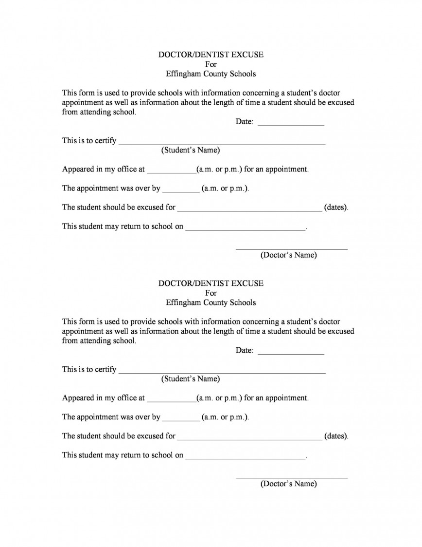 007 Unique Doctor Note Template Free Download Example  Fake868