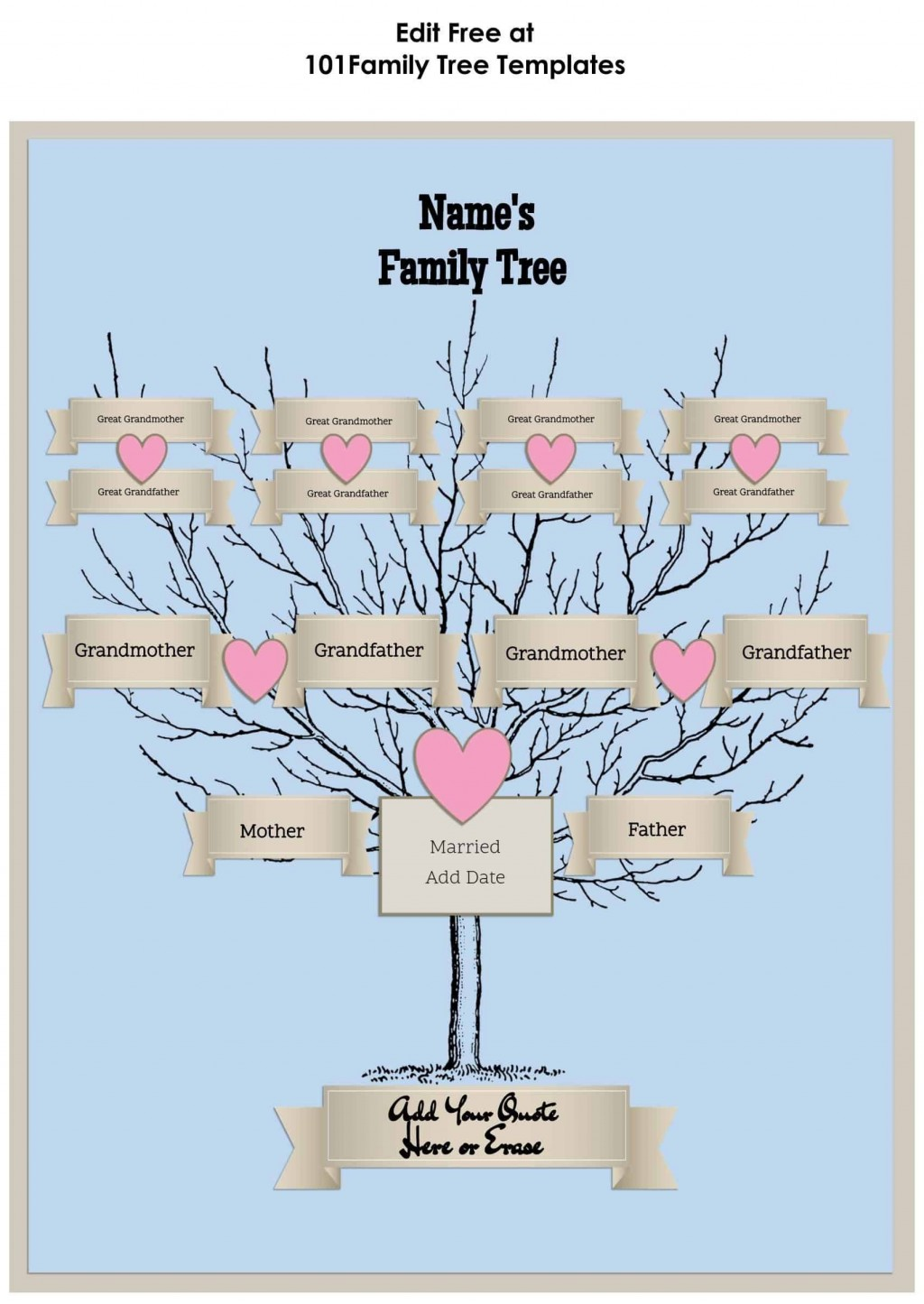 007 Unique Editable Family Tree Template Online Free High Resolution Large
