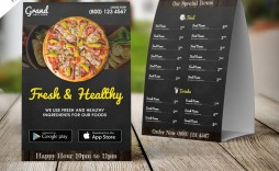 007 Unique Food Menu Card Template Free Download Image