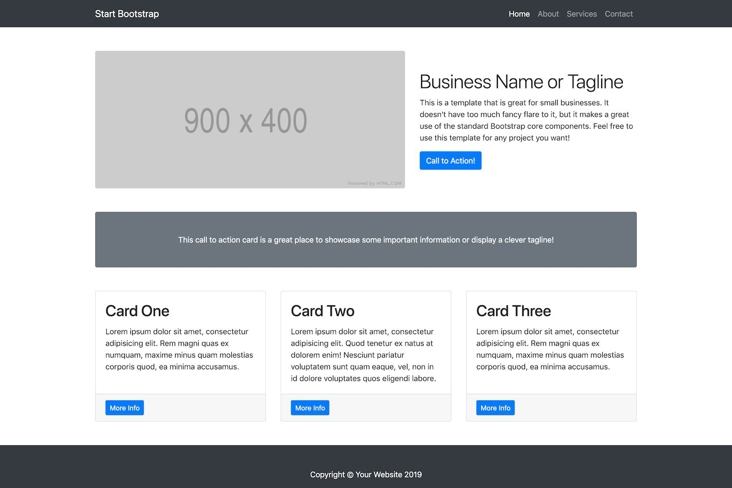 007 Unique Free Busines Website Template Idea  Templates Wordpres For Small Dreamweaver Download Html5 With Css3 JqueryFull