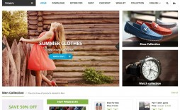 007 Unique Free Ecommerce Website Template Download Design  Shopping Cart Bootstrap 3