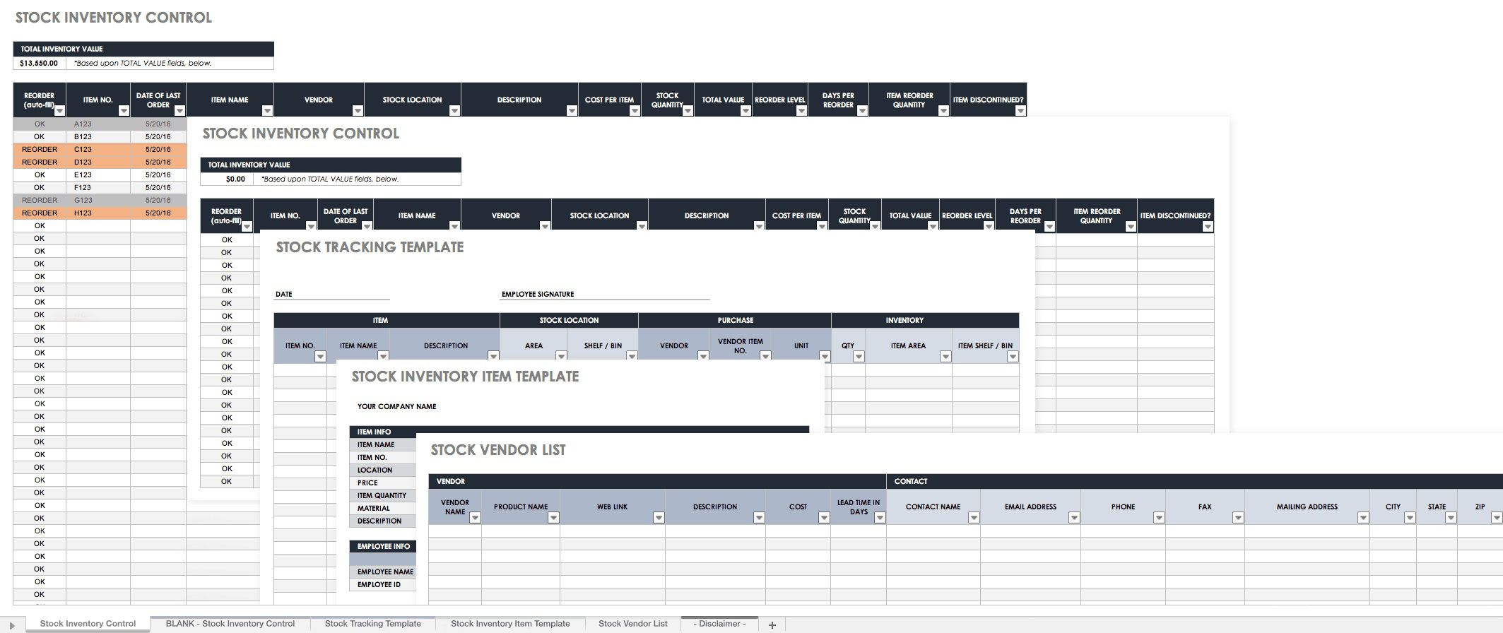 007 Unique Free Inventory Spreadsheet Template High Definition  Ebay ToolFull