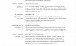 007 Unique Free Printable Resume Template Pdf Idea