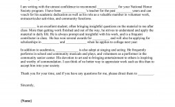007 Unique Letter Or Recommendation Template Highest Clarity  Of For Scholarship From Teacher Reference Employee Aide