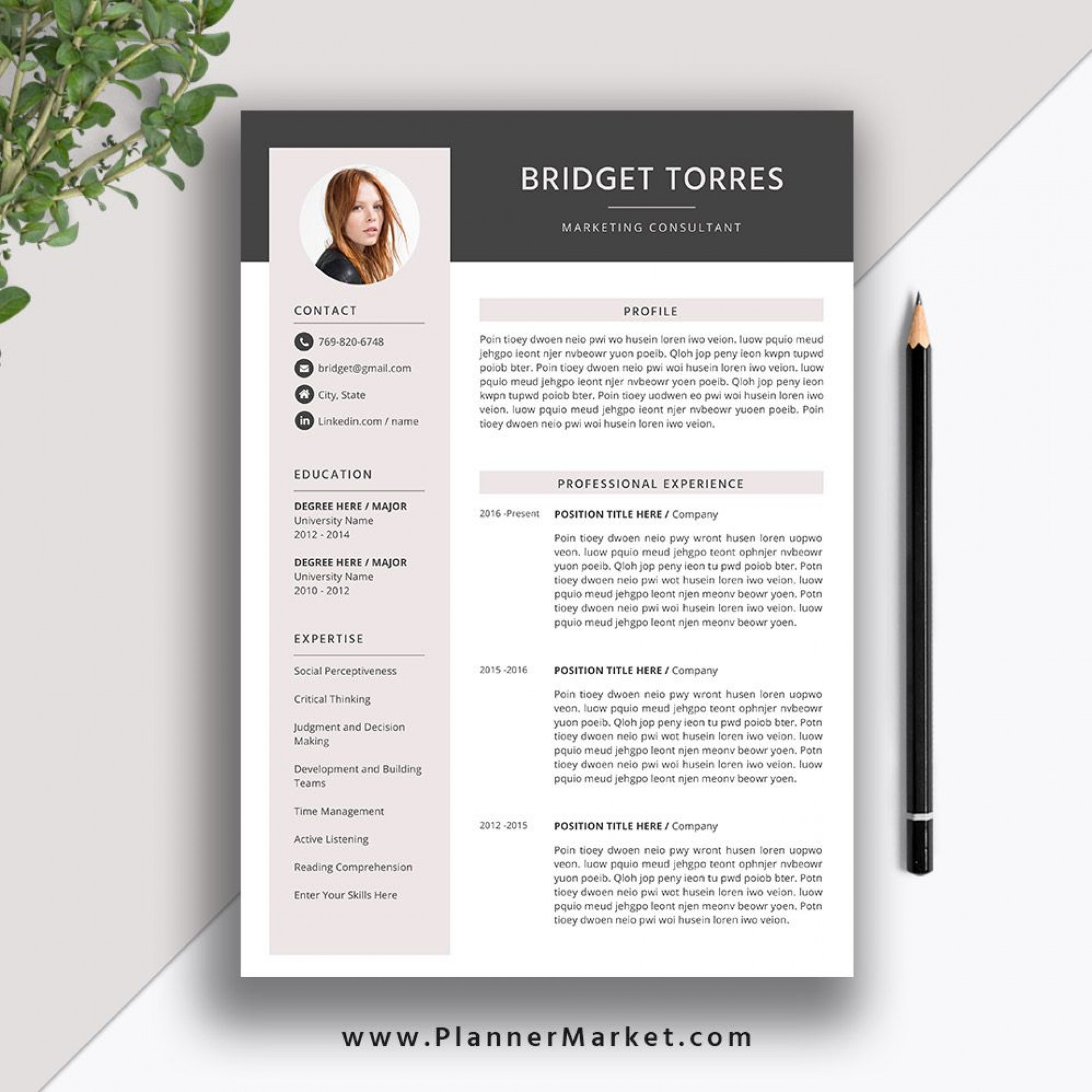 007 Unique Microsoft Word Resume Template 2020 Idea  Free1920