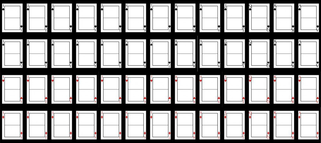 007 Unique Playing Card Template Word Doc Design  DocumentLarge