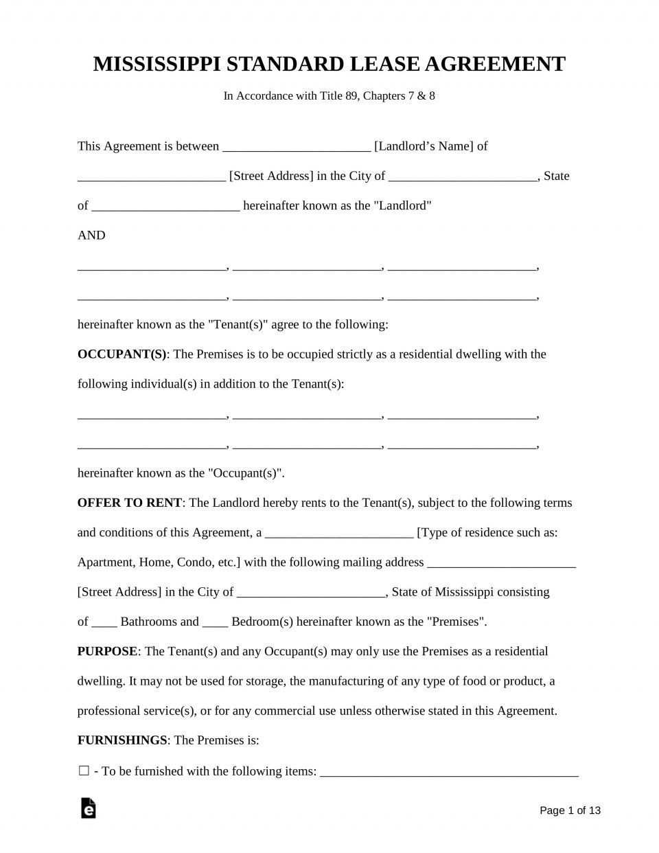 007 Unique Residential Lease Agreement Template Highest Clarity  Tenancy Form Alberta California960