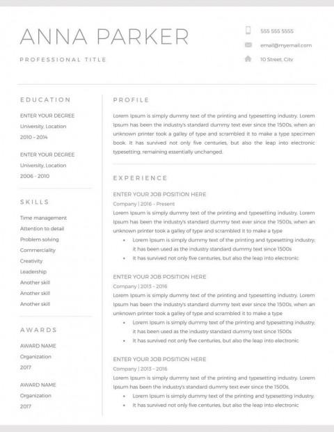 007 Unique Skill Based Resume Template Word Picture  Microsoft480