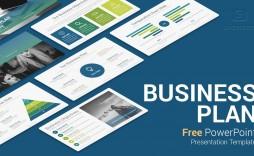 007 Unique Startup Busines Plan Template Ppt Idea  Free